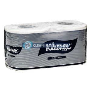 Kleenex 4738 2ply Toilet Roll Executive Premium Quality Individually Wrapped Twin Pack - 24 twin packs / ctn