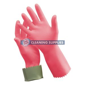 Oates Silver Lined Rubber Gloves size 8 - 165822 / R-88-8