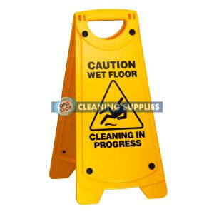 Rapid Nonslip A Frame Caution Sign in Yellow - 165484 / IW-101RP