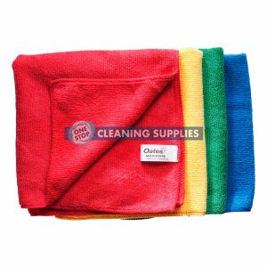 Oates Microfibre All Purpose Cloth in Red (60 Pack) - 165634 / MF-034R
