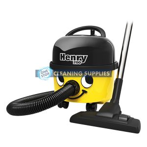 Numatic Herny Commercial Vacuum - HVR200Y in Yellow
