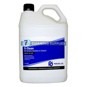 Peerless S-Clean Surface Sanitiser and Cleaner 5 Litre